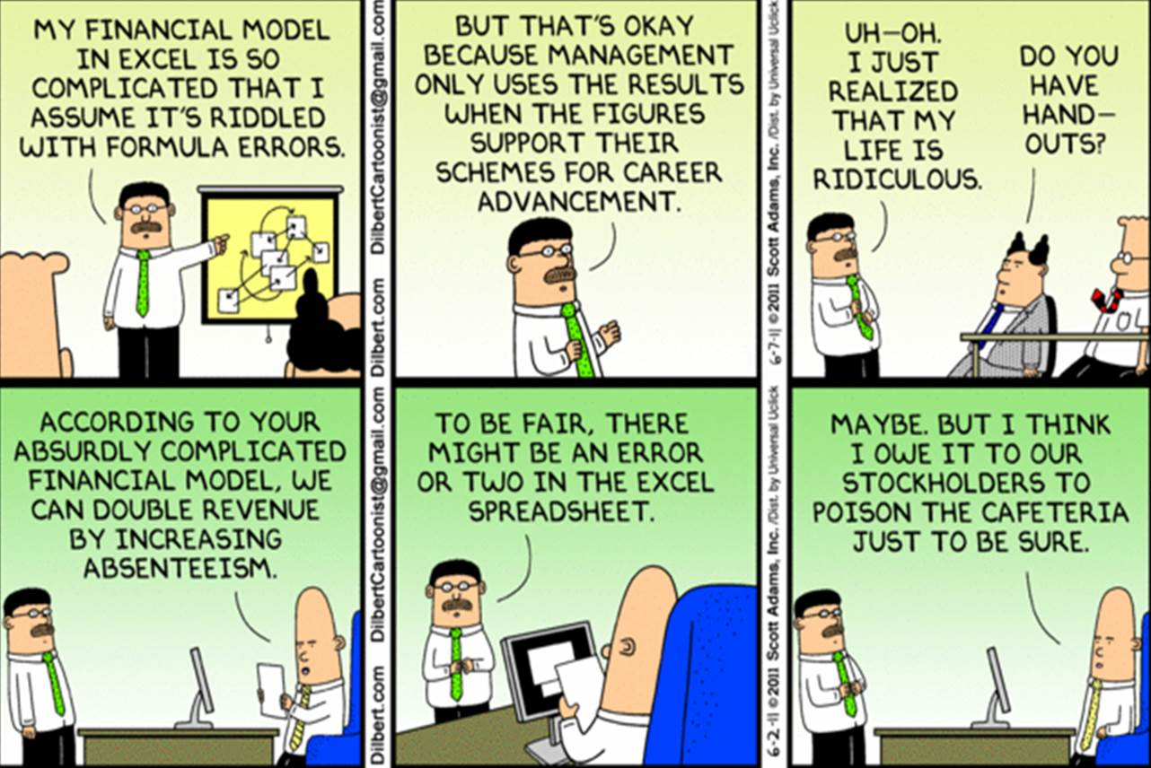 The 10 best pointy haired boss moments from dilbert business - Dilbert Where Am I For Pinterest