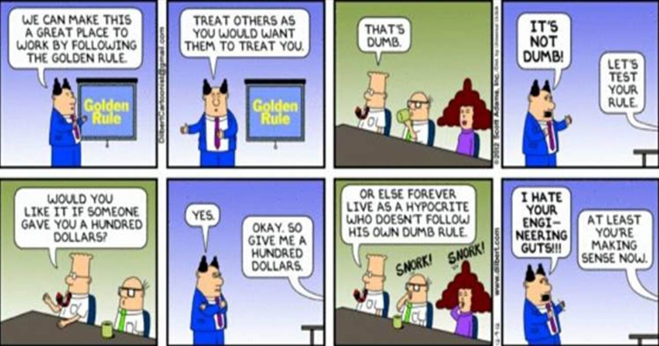 Dilbert on Great Place to Work (GPTW)