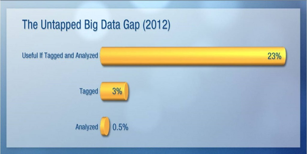 The Untapped Big Data Gap 2012 - IDC